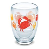 Tervis® Crab Pattern 9 oz. Stemless Wine Glass