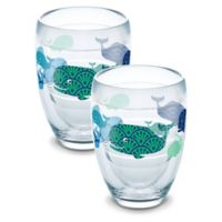 Tervis® Whale Sun & Surf 9 oz. Stemless Wine Glasses (Set of 2)