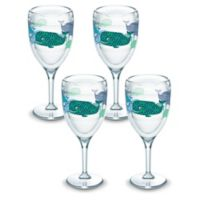 Tervis® Whale Sun & Surf 9 oz. Stemmed Wine Glass (Set of 4)