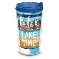 Tervis® Relax You're on Lake Time 16 oz. Wrap Tumber with Lid