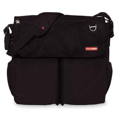 Skip Hop Dash Signature Diaper Bag in Black