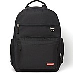 Skip Hop Duo Diaper Backpack in Black