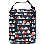 Skip Hop Grab & Go Double Bottle Bag in Dome Print