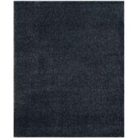 Safavieh Arizona 6-Foot 7-Inch x 9-Foot 2-Inch Shag Area Rug in Blue