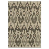 Oriental Weavers Highlands Ikat 5-Foot 3-Inch x 7-Foot 6-Inch Area Rug in Ivory