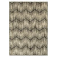 Oriental Weavers Highlands Chevron 5-Foot 3-Inch x 7-Foot 6-Inch Area Rug in Grey
