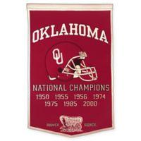University of Oklahoma Dynasty Banner