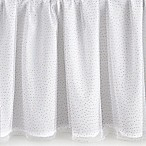 Levtex Baby Anika Polka-Dot Tulle Crib Skirt in White/Gold