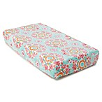 Levtex Baby Anika Changing Pad Cover in Pink
