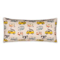 Glenna Jean Happy Camper Printed Rectangular Throw Pillow