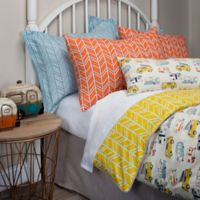 Glenna Jean Happy Camper Reversible Twin Duvet Cover