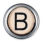 Letter2word Babes & Kiddo Typewriter Key Letter B 8.5-Inch x 8.5-Inch Wall Art
