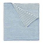 Elegant Baby® Twisted Yarn Blanket in Blue
