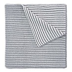Elegant Baby® Twisted Yarn Blanket in Grey