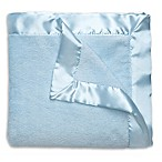 Elegant Baby® Satin Trimmed Hanging Blanket in Blue