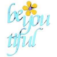 "Letter2word Babes & Kiddos ""Be You Tiful"" Wall Decals"