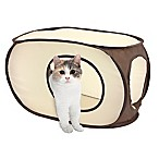 Kitty City™ Pop-Up Kitty Fort in Beige/Brown