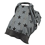 Dooky® Adjustable Car Seat Canopy in Grey Stars