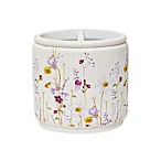 Croscill® Pressed Flowers Toothbrush Holder