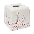 Croscill® Pressed Flowers Boutique Tissue Box Cover
