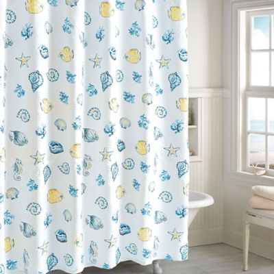 Buy Seahorse Shower Curtain From Bed Bath Beyond