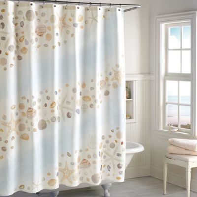 Buy Beach Fabric Shower Curtain From Bed Bath Beyond