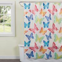 4cc3b265a4d4 Saturday Knight Swallowtail Butterfly Shower Curtain
