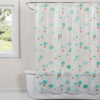 Saturday Knight Words Shower Curtain