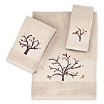 Avanti Birds of a Feather Turkish Cotton Hand Towel in Beige