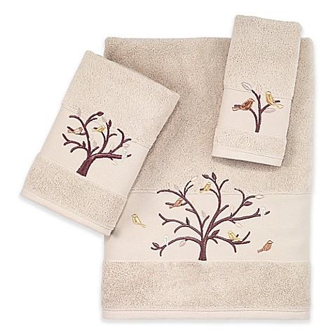 Avanti Birds Of A Feather Turkish Cotton Bath Towel