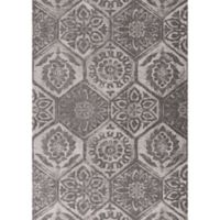 KAS Mosaic Retreat 1-Foot 8-Inch x 2-Foot 7-Inch Accent Rug in Grey
