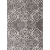 KAS Mosaic Retreat 2-Foot 2-Inch x 3-Foot 9-Inch Accent Rug in Grey