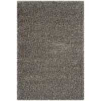 Safavieh Charlotte 4-Foot x 6-Foot Shag Area Rug in Grey