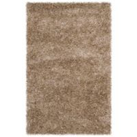 Safavieh Malibu 2-Foot 6-Inch x 4-Foot Shag Accent Rug in Natural