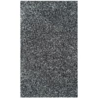 Safavieh Malibu 3-Foot 6-Inch x 5-Foot 6-Inch Shag Area Rug in Charcoal