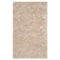 Safavieh Malibu 3-Foot 6-Inch x 5-Foot 6-Inch Shag Area Rug in Natural