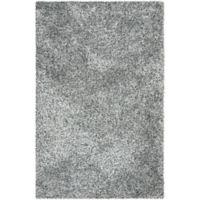 Safavieh Malibu 3-Foot 6-Inch x 5-Foot 6-Inch Shag Area Rug in Silver