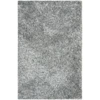 Safavieh Malibu 6-Foot x 9-Foot Shag Area Rug in Silver