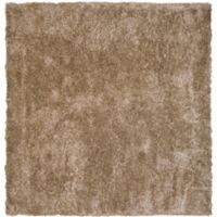 Safavieh Malibu 5-Foot Square Shag Area Rug in Natural