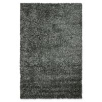 Safavieh Malibu 5-Foot x 8-Foot Shag Area Rug in Charcoal