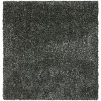 Safavieh Malibu 7-Foot Square Shag Area Rug in Charcoal