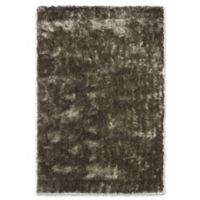 Safavieh Paris 2-Foot 6-Inch x 4-Foot Shag Accent Rug in Silver