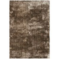 Safavieh Paris 2-Foot 6-Inch x 4-Foot Shag Accent Rug in Sable
