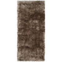 Safavieh Paris 2-Foot 3-Inch x 10-Foot Shag Runner in Sable