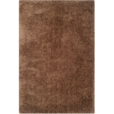 safavieh venice 4foot x 6foot shag area rug in taupe