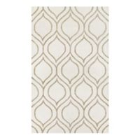 Couristan® Super Indo Naturals Alba 3-Foot 6-Inch x 5-Foot 6-Inch Area Rug in Ivory/Grey