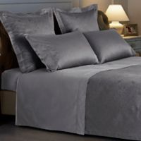 Frette At Home Arabesque King Sheet Set in Grey