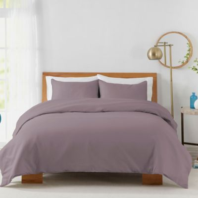 450 Thread Count Cotton Sa King Duvet Cover Set In Lilac