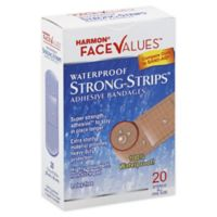 Harmon® Face Values™ XL Waterproof Strong Strip Bandages