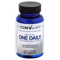 Core Values™ 65-Count Men's 50+ Daily Multi-Vitamin with Lycopene
